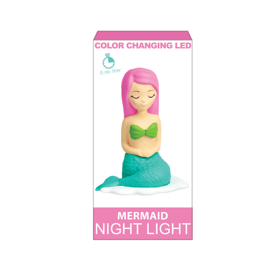 Mermaid Color Changing LED Night Light
