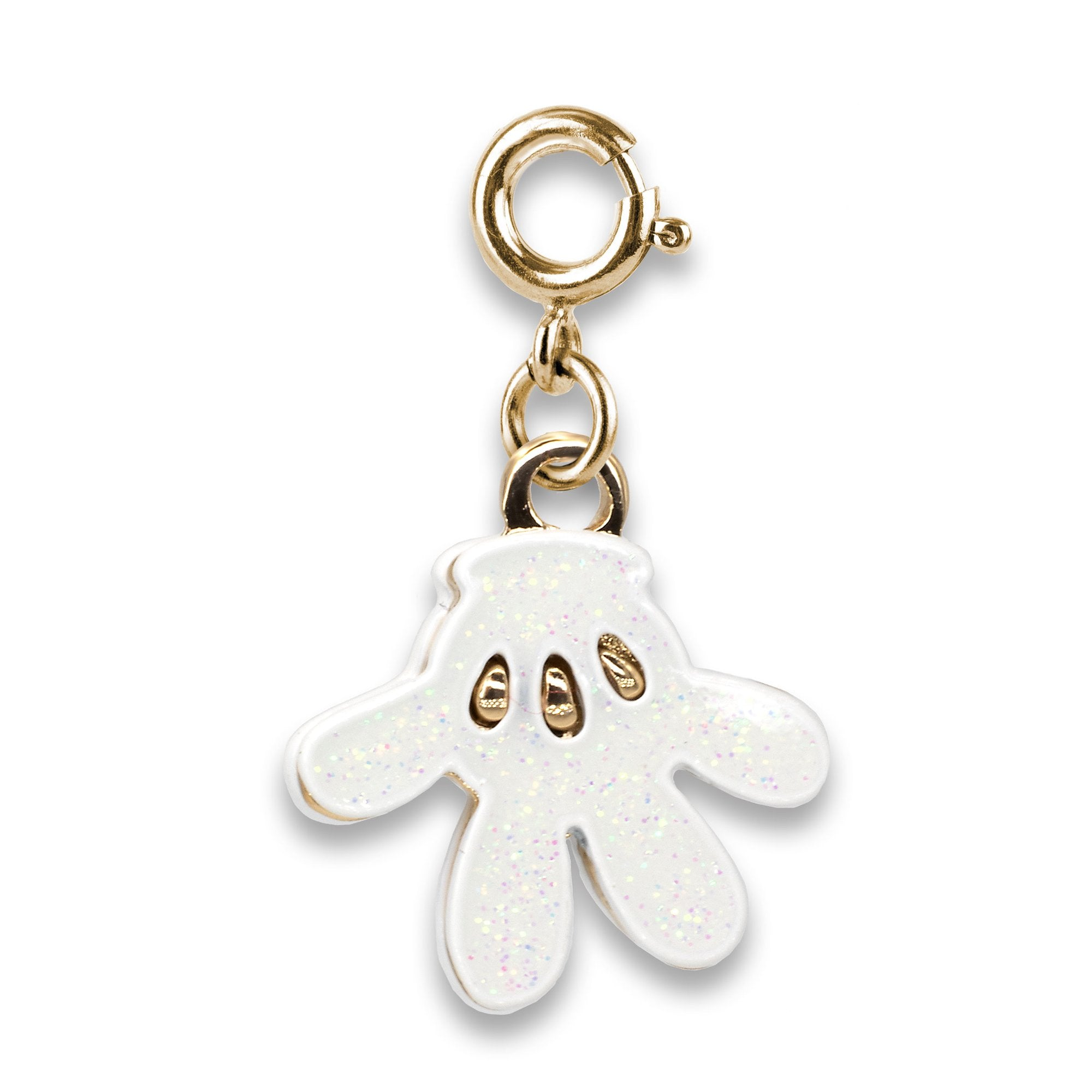Gold Mickey Glove Charm