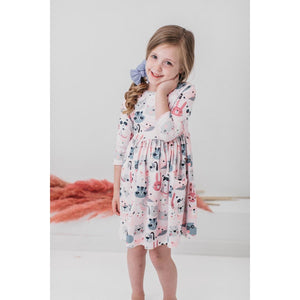 Party Animal Pocket Twirl Dress
