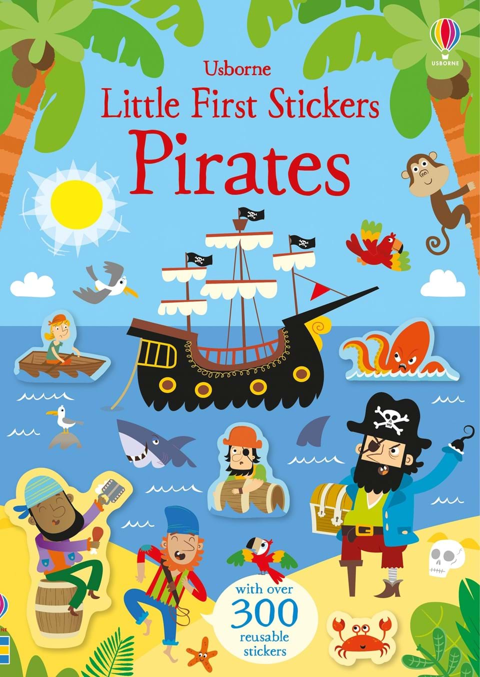Little Stickers-Pirates