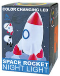 Space Rocket Color Changing LED Night Light