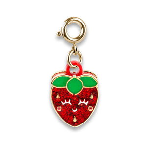 Gold Scented Strawberry Charm