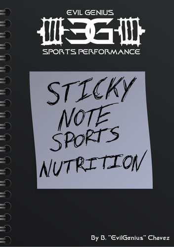 Sticky Note Sports Nutrition