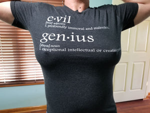 "TeamEvilGSP ""Dictionary Logo"" Tshirt / Black"
