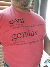 "TeamEvilGSP ""Dictionary Logo"" Tshirt / Red"
