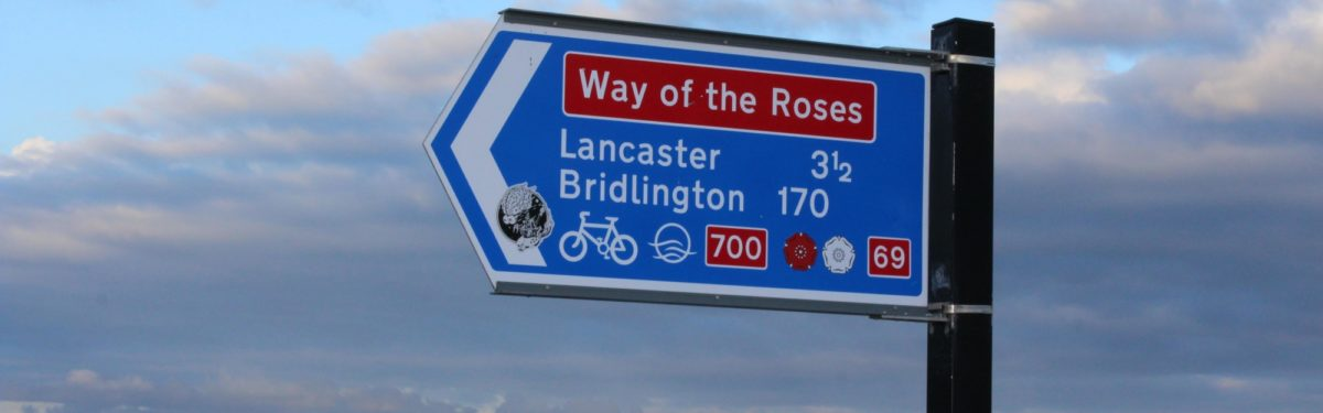 The Way of The Roses Cycle Route