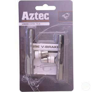 Aztec V-Type Cartridge System Brake Blocks Plus-Brake Pads - Road / V / Canti