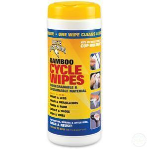 Bamboo Cycle Wipes-Cleaning & Lubrication
