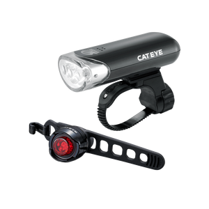 Cateye HL-135 & Orb Set-Lights-Cateye-3 Peaks Cycles Bike Shop & Cafe