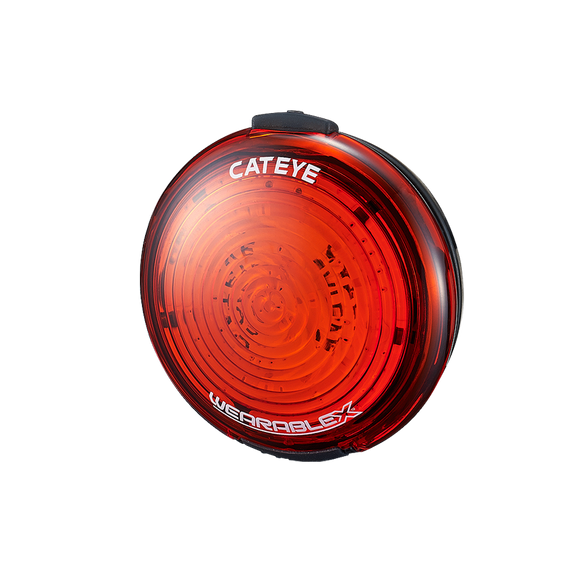 Cateye Wearable X Rear Light-Lights-Cateye-3 Peaks Cycles Bike Shop & Cafe