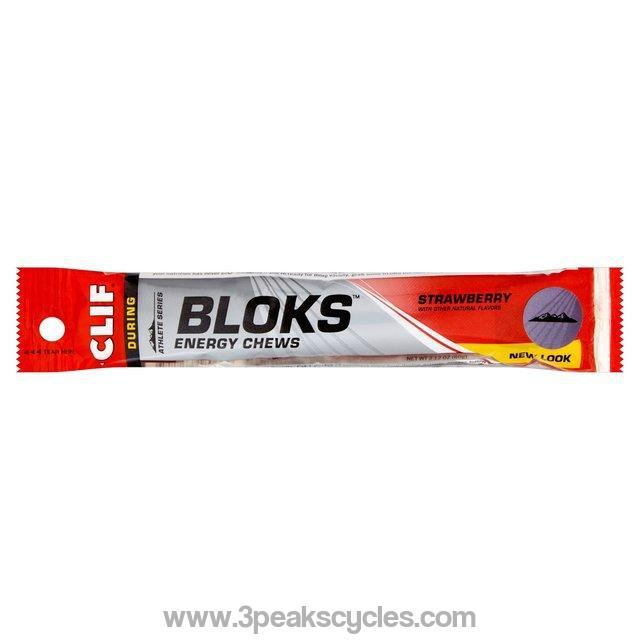Clif Shot Bloks-Gels, Bars & Drinks
