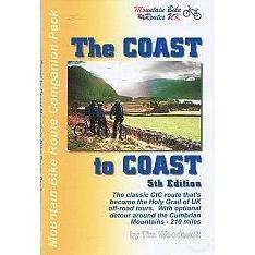 Coast-To-Coast Mountain Bike Route Companion Pack-Books & Maps