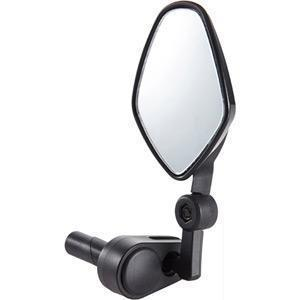 Commute mirror internal bar-end clamp black-Mirrors-M:Part-3 Peaks Cycles Bike Shop & Cafe