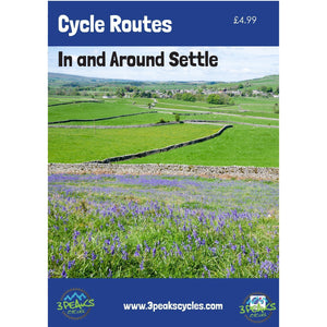 Dinky Map - Cycle Routes in and around Settle-Books & Maps-3 Peaks Cycles Bike Shop & Cafe-3 Peaks Cycles Bike Shop & Cafe