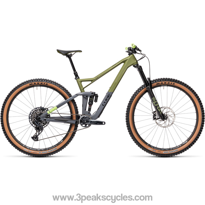 *DUE APRIL* Cube Stereo 150 C:62 Race 29 (2021)-Mountain Bikes