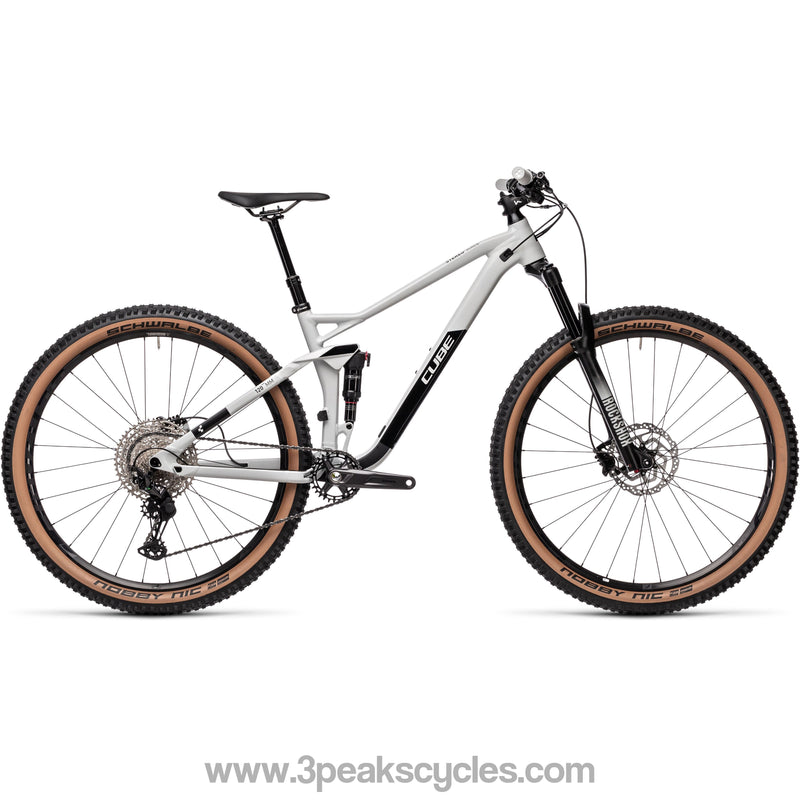 *DUE MARCH* Cube Stereo 120 Race 29 (2021)-Mountain Bikes