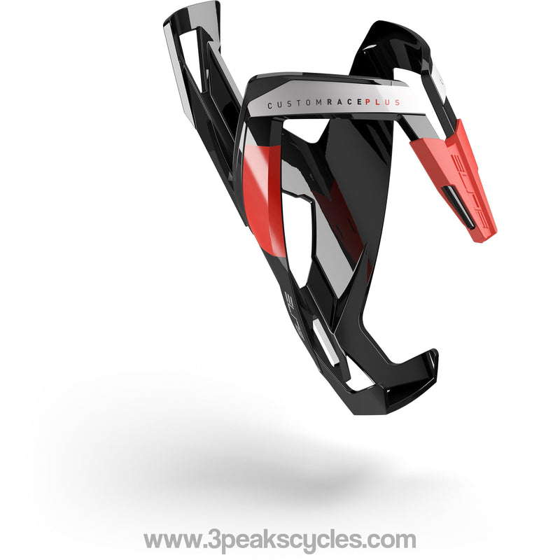 Elite Custom Race Plus Resin Cage Black / Red-Bottle Cages