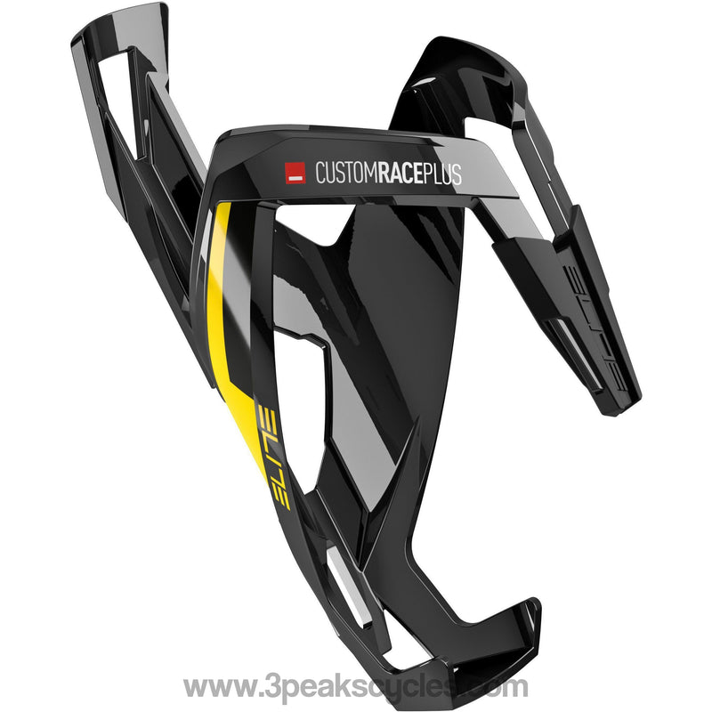 Elite Custom Race Plus Resin Cage Black / Yellow-Bottle Cages