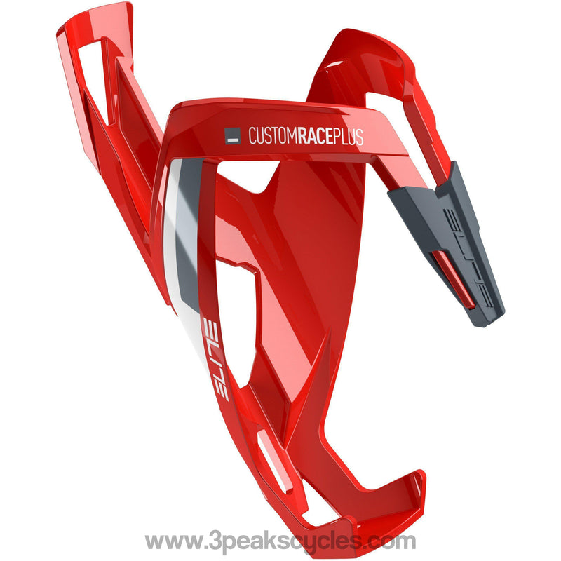 Elite Custom Race Plus Resin Cage - Red / White-Bottle Cages