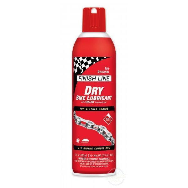 Finish Line Dry Lube - 17Oz Spray-Cleaning & Lubrication