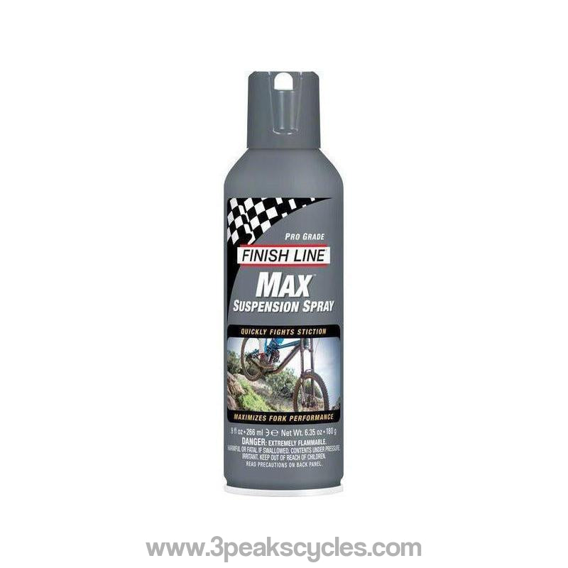 Finish Line Max Suspension Spray-Cleaning & Lubrication