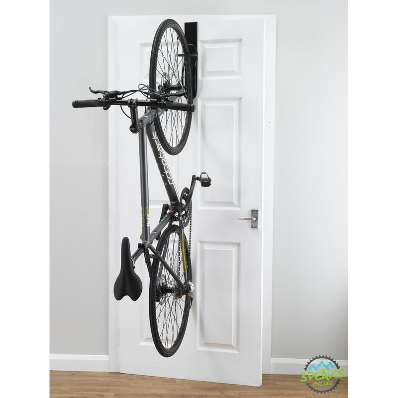 Gear Up Off-The-Door Single Bike Vertical Rack-Transport and Storage