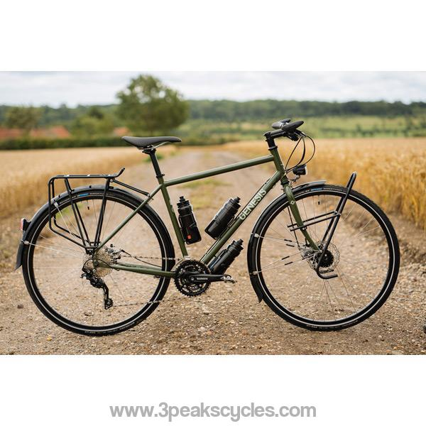 Genesis Tour De Fer 20 Flat Bar (2021)-Road Bikes