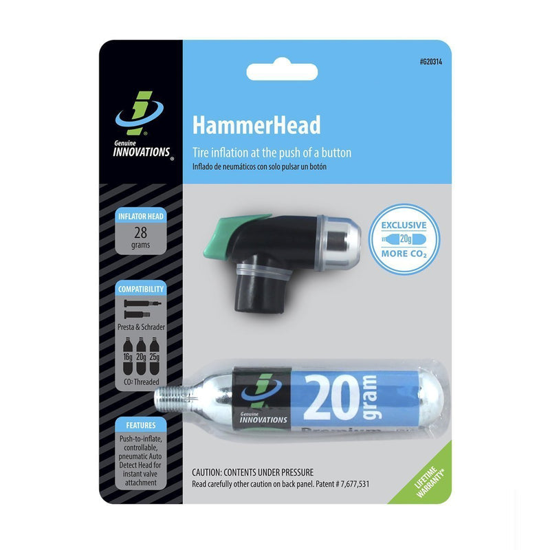 Genuine Innovations Hammerhead Co2 Inflator:-Pumps