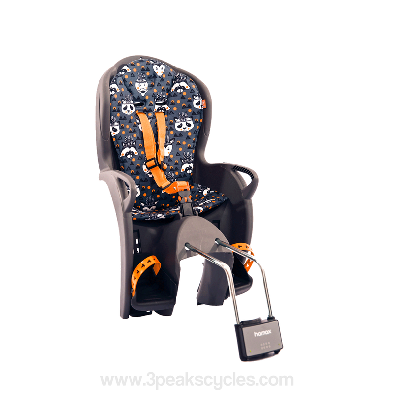 Hamax Kiss Rear Child Seat-Child Seats