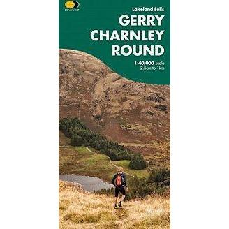 Harvey Maps - Gerry Charnley Round Map 1:40,000-Books & Maps