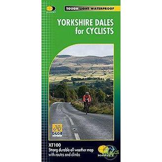 Harvey Maps - Yorkshire Dales For Cyclists-Books & Maps