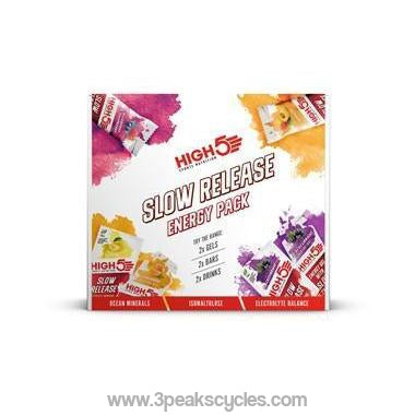High 5 Slow Release Energy Pack-Gels, Bars & Drinks