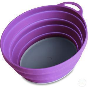 Lifesystems Silicone Ellipse Bowl - Purple-Cookware