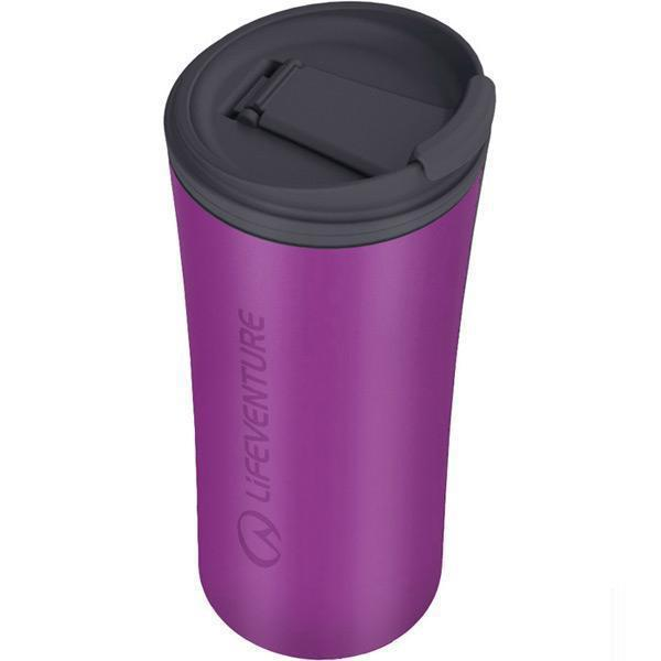 Lifeventure Ellipse Travel Mug - Purple-Cookware