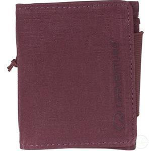 Lifeventure Rfid Protected Wallet - Aubergine Waxed Canvas-Wallets