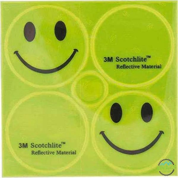 M-Wave 3M Scotchlite Reflective Sticker Set-Safety & Hi Vis