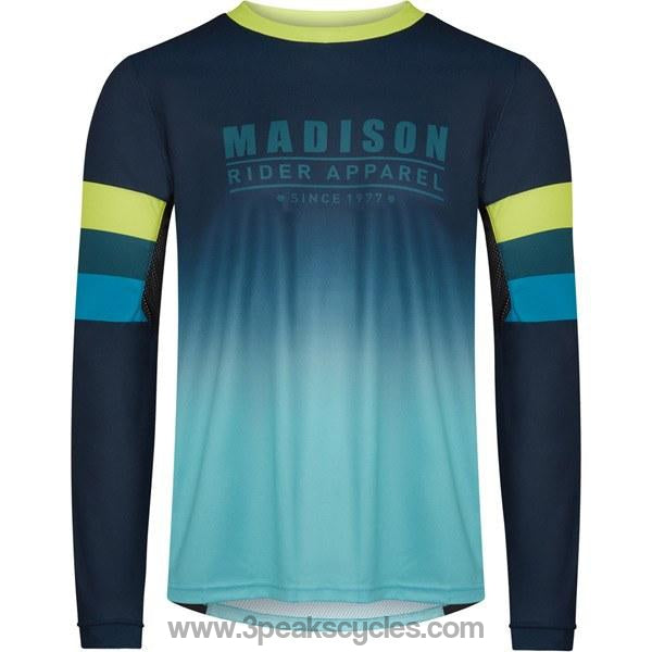 Madison Alpine Men's Long Sleeve Jersey-Jerseys