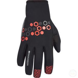 Madison Element Men's Softshell Gloves-Gloves-Madison-Small-3 Peaks Cycles Bike Shop & Cafe