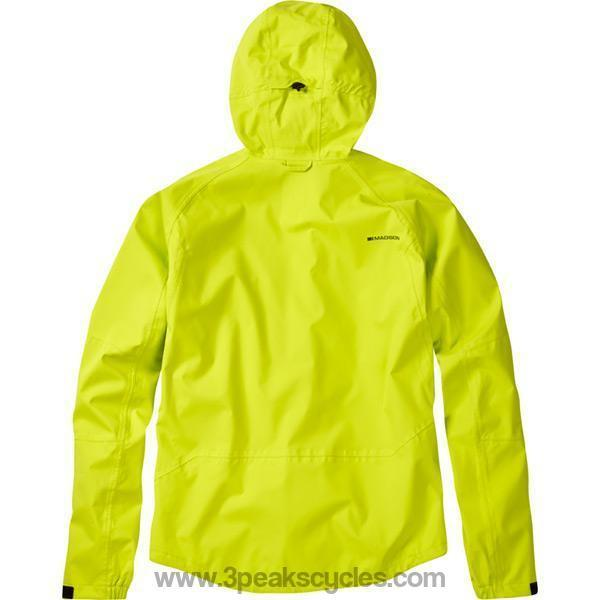 Madison Zenith Men's Lime Green Waterproof Jacket-Jackets