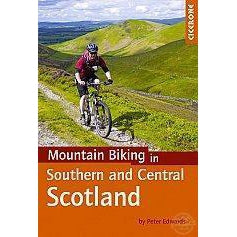 Mountain Biking in Southern and Central Scotland-Books & Maps-Cicerone-3 Peaks Cycles Bike Shop & Cafe