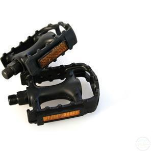 M:Part Standard Plastic Pedals - 9/16 Inch Thread-Pedals