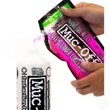 Muc-Off Bike Cleaner Concentrate 500Ml Pouch-Cleaning & Lubrication