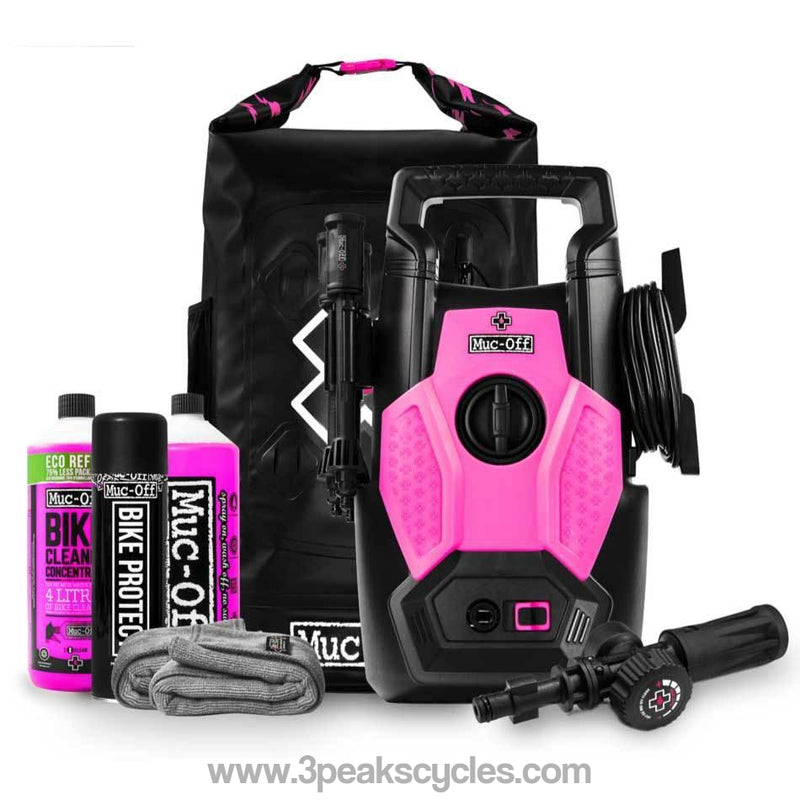 Muc-Off Bike Specific Pressure Washer Bundle-Cleaning & Lubrication