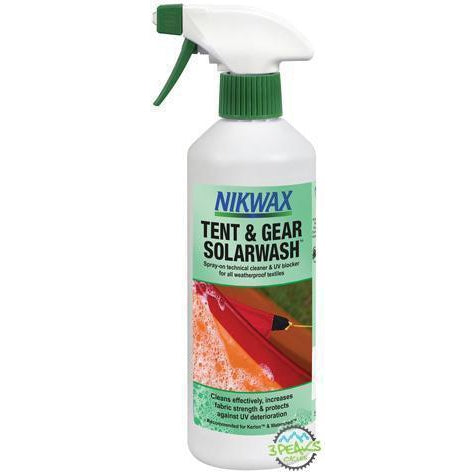 Nikwax Tent & Gear Solarwash Spray-On 500Ml-Garment Care