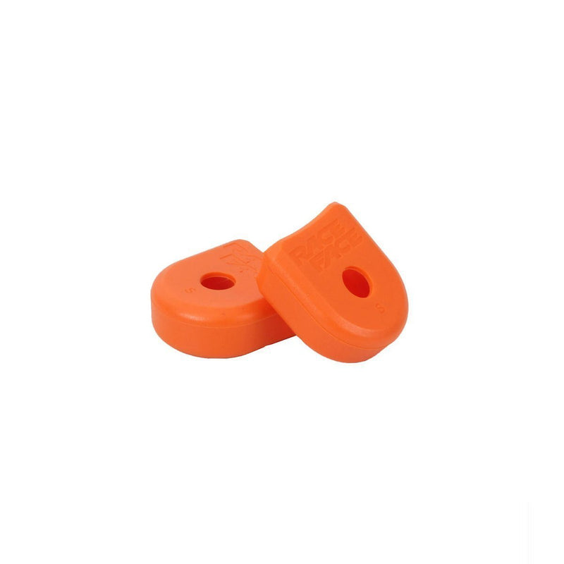 Race Face Alloy Crank Boots - Orange-Spares