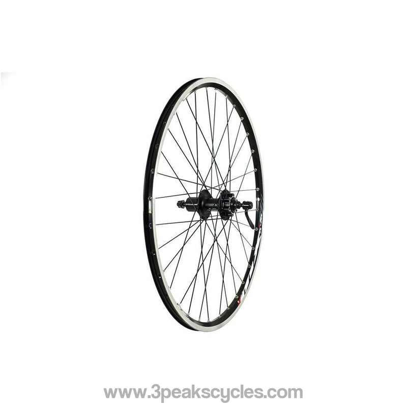 "Raleigh 26"" Real Wheel with Mach1 Rim and Deore Hub-Wheels"