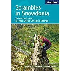 Scrambles in Snowdonia-Books & Maps-Cicerone-3 Peaks Cycles Bike Shop & Cafe