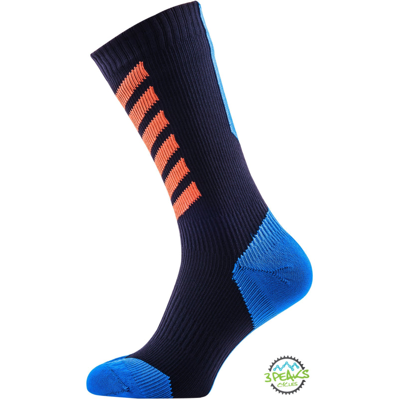 Sealskinz MTB Mid Waterproof Socks With Hydrostop-Socks