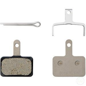 Shimano B01S disc brake pads and spring, steel backed, resin-Brake Pads - Disc-Shimano-3 Peaks Cycles Bike Shop & Cafe