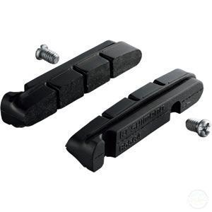 Shimano BR-9000 R55C4 Cartridge-Type Brake Inserts And Fixing Bolts, Pair-Brake Pads - Road / V / Canti